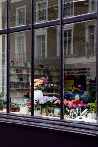 Retail florist shopfront