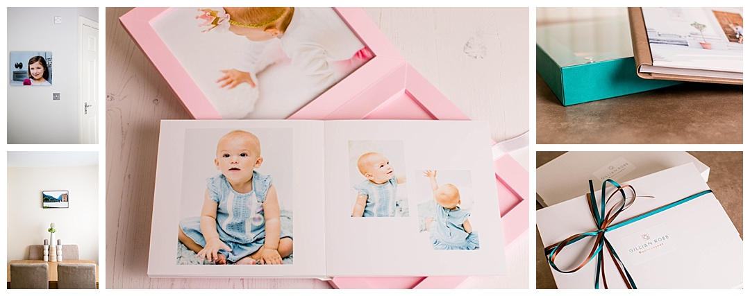 Print photography products offered by Gillian Robb Photography - wall art and albums