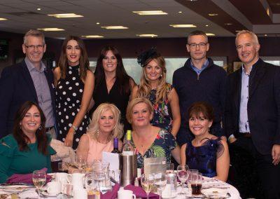 gala dinner group shot
