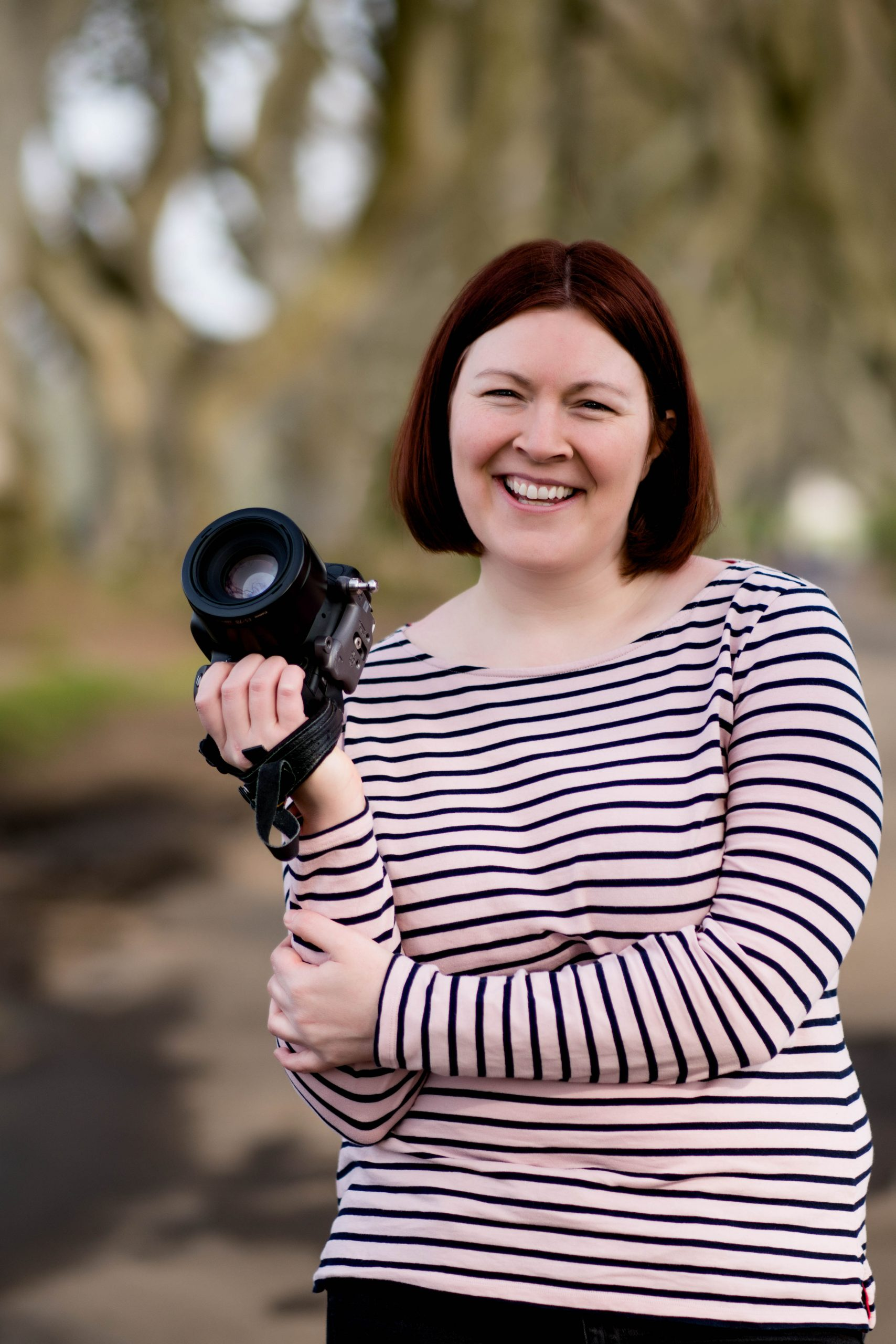portrait of Gillian Robb, lifestyle photographer