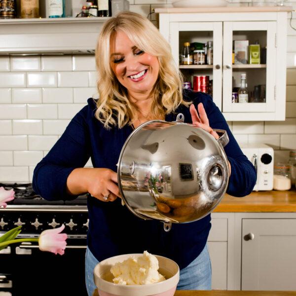 female entrepreneur baking