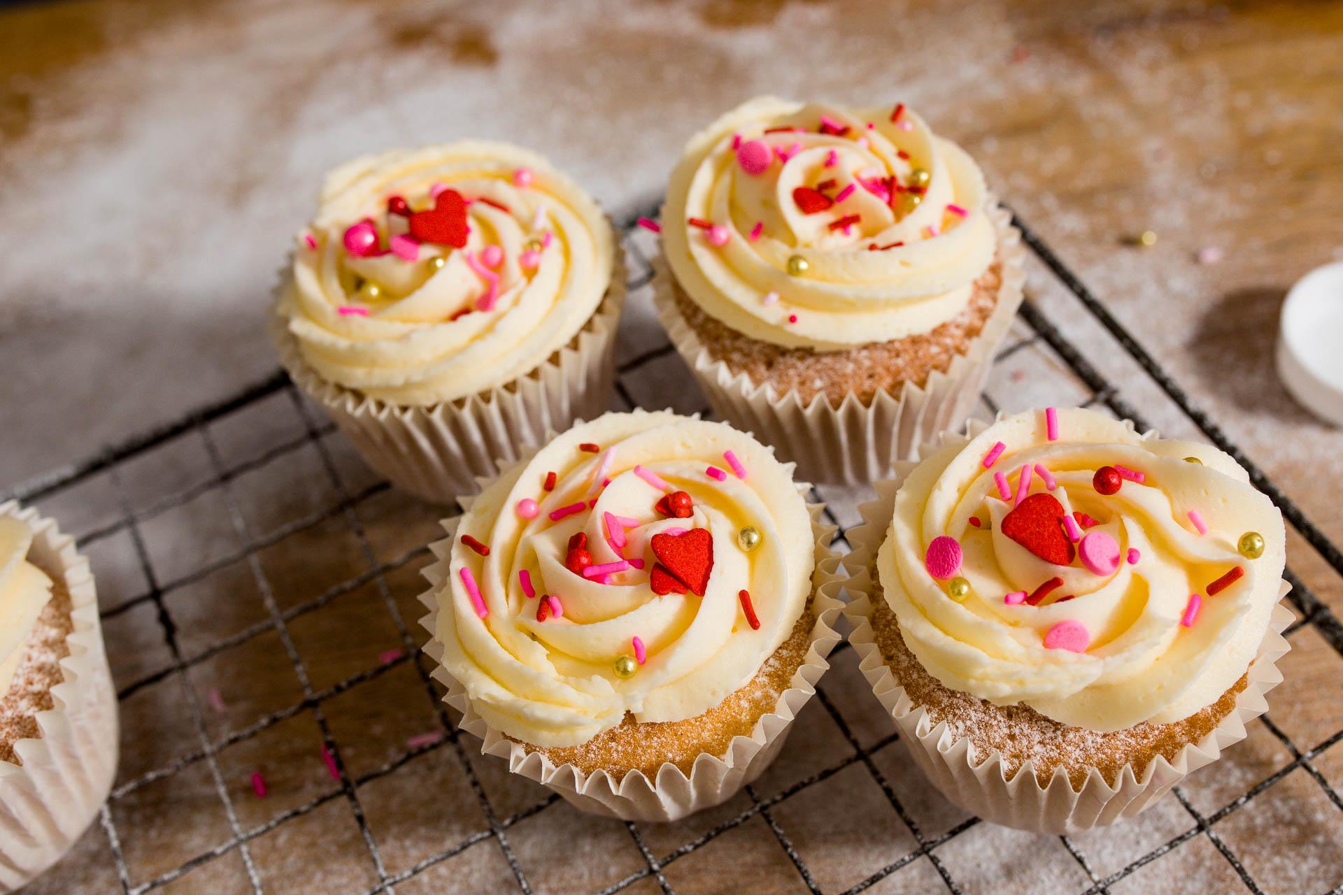 cupcakes lifestyle photo