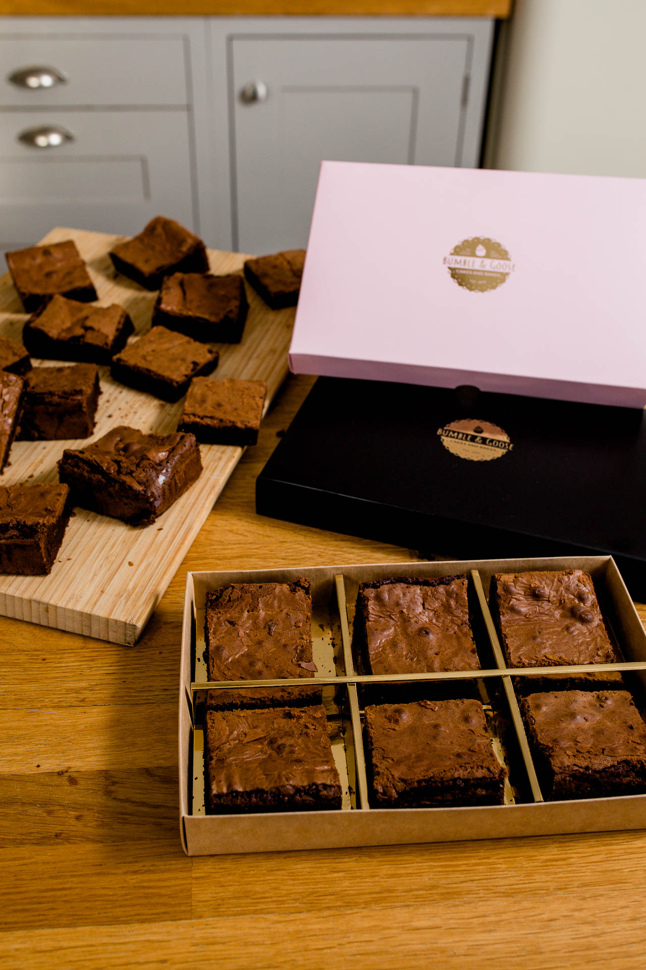 product photo of boxed brownies