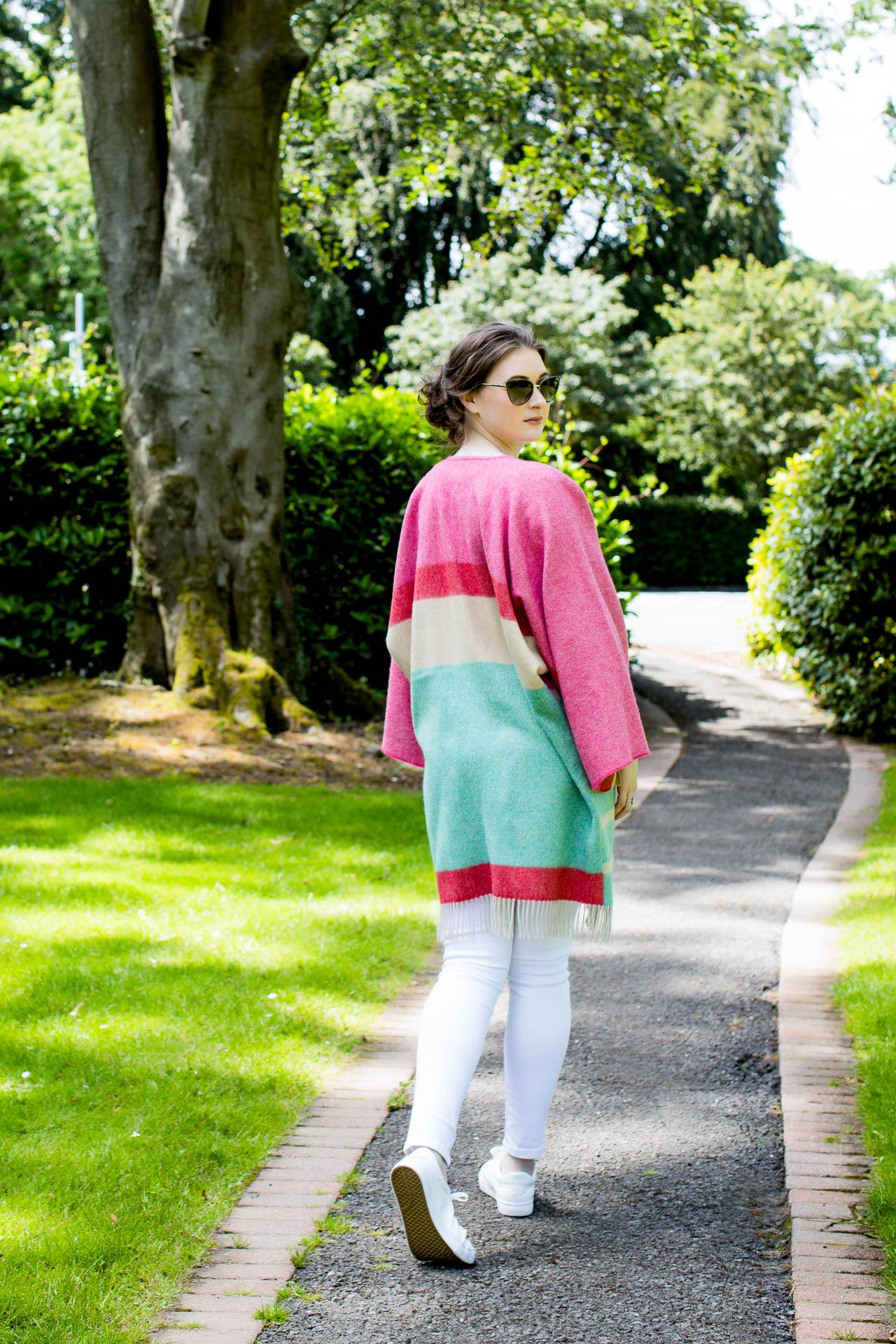 lifestyle fashion photo of textile product