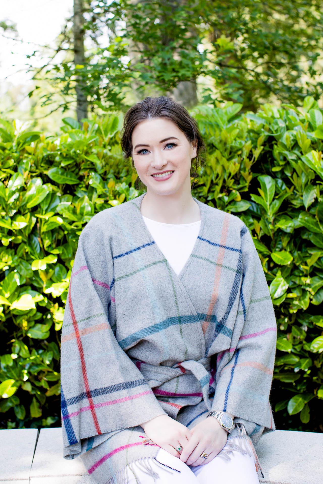 female entrepreneur portrait outdoor