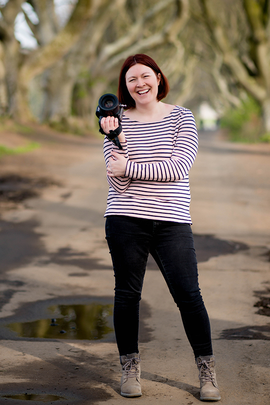 portrait of Gillian Robb, lifestyle photographer