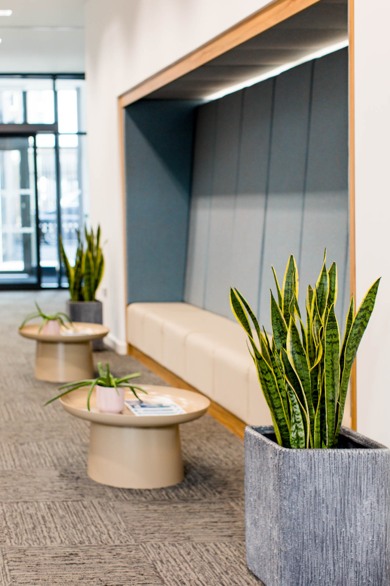 commercial lobby photograph