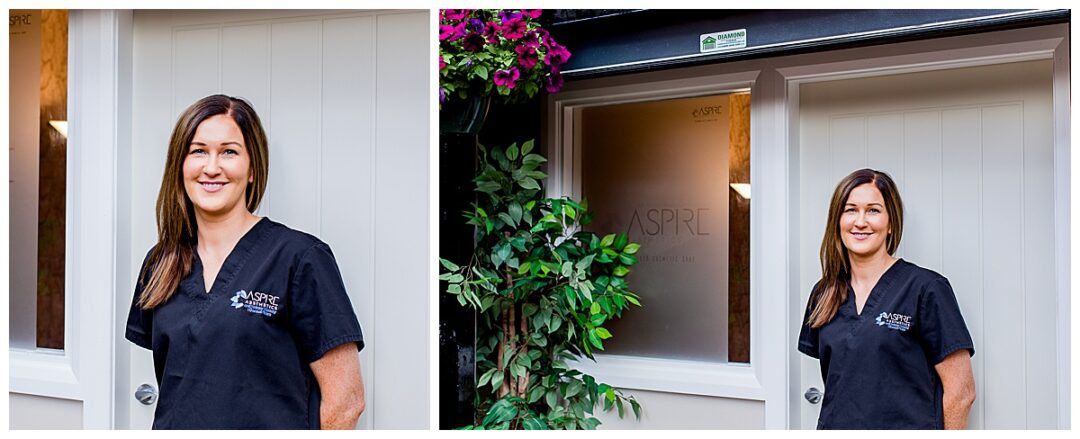 business portraits of aesthetics clinic owner