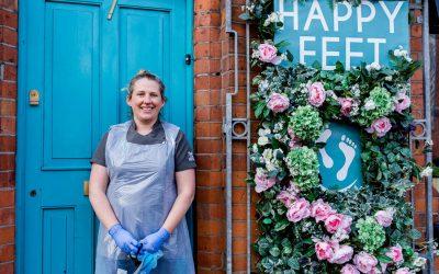 Back to Business Doorstep Portraits – Belfast: Happy Feet